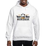 Rock and Roll Beer League Hooded Sweatshirt