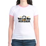 Rock and Roll Beer League Jr. Ringer T-Shirt