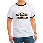 Rock and Roll Beer League Ringer T