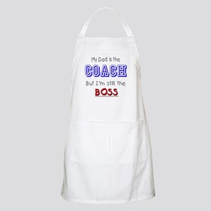 My Dad Is The COACH BBQ Apron