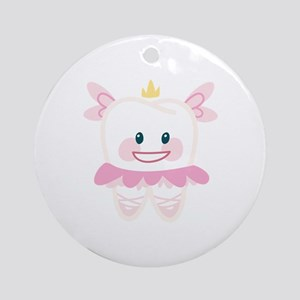 Toothy Fairy Ornament (Round)