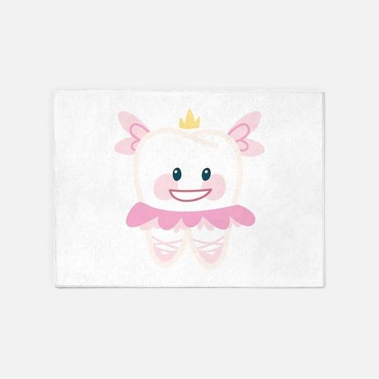 Toothy Fairy 5'x7'Area Rug