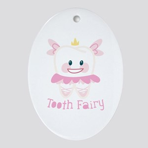 Tooth Fairy Ornament (Oval)