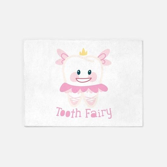 Tooth Fairy 5'x7'Area Rug
