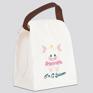Im A Believer Canvas Lunch Bag