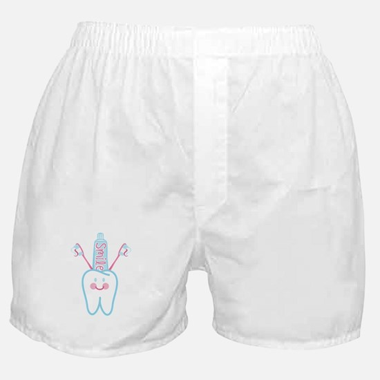 Smile Tooth Boxer Shorts