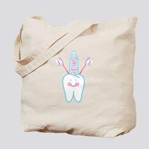 Smile Tooth Tote Bag