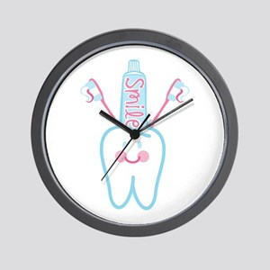 Smile Tooth Wall Clock
