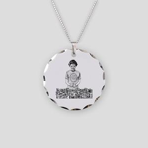 Nancy Reagan Necklace Circle Charm