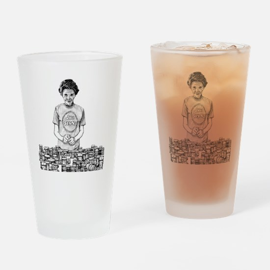 Nancy Reagan Drinking Glass