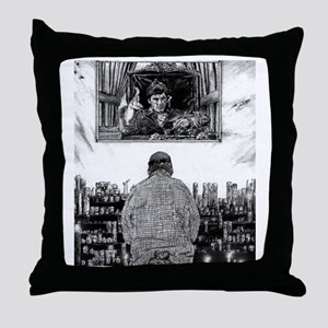Saint Tony Throw Pillow