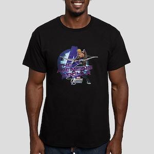 Avenging Archer Men's Fitted T-Shirt (dark)
