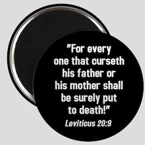 Leviticus 20:9 Magnet