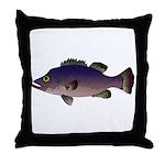 Atlantic Wreckfish Throw Pillow