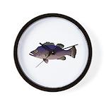 Atlantic Wreckfish Wall Clock