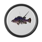 Atlantic Wreckfish Large Wall Clock