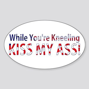 While You're Kneeling Sticker