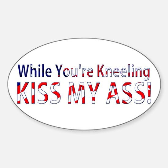 While You're Kneeling Decal