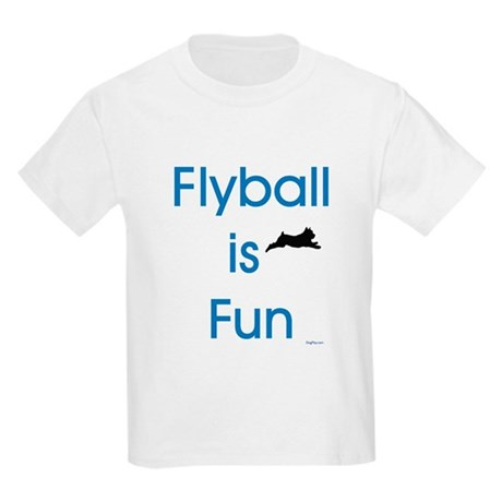 Flyball is Fun Kids Light T-Shirt