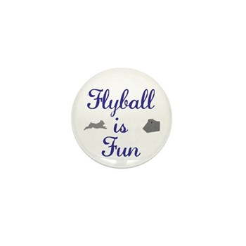 Flyball is Fun Mini Button (100 pack)