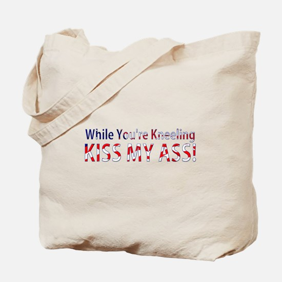 While You're Kneeling Tote Bag