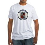 USS FREDERICK Fitted T-Shirt