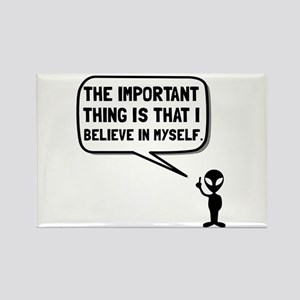 Alien Believe In Myself Magnets