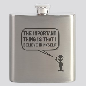 Alien Believe In Myself Flask