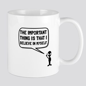 Alien Believe In Myself Mugs