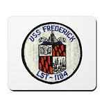 USS FREDERICK Mousepad