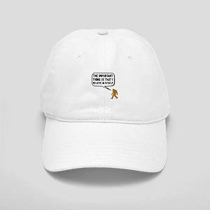 Bigfoot Believe In Myself Baseball Cap