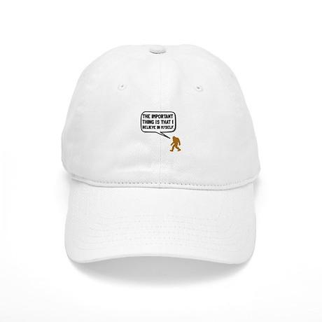 Bigfoot Believe In Myself Baseball Baseball Cap by TeesParty 5e30c2c32ac2