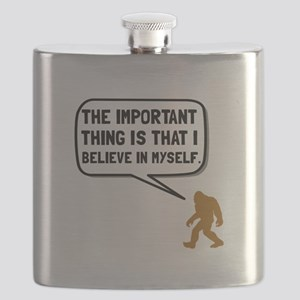 Bigfoot Believe In Myself Flask