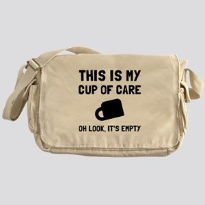 Cup Of Care Messenger Bag