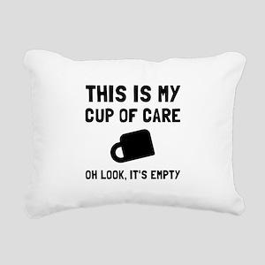 Cup Of Care Rectangular Canvas Pillow