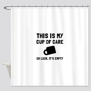 Cup Of Care Shower Curtain