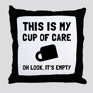 Cup Of Care Throw Pillow