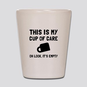 Cup Of Care Shot Glass
