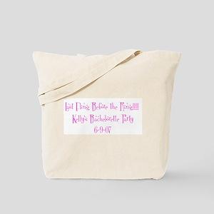 Last Fling Before the Ring!!! Tote Bag