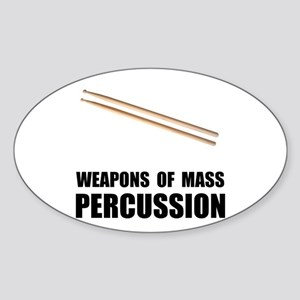 Drum Mass Percussion Sticker