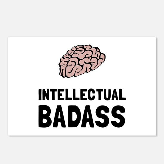 Intellectual Badass Postcards (Package of 8)