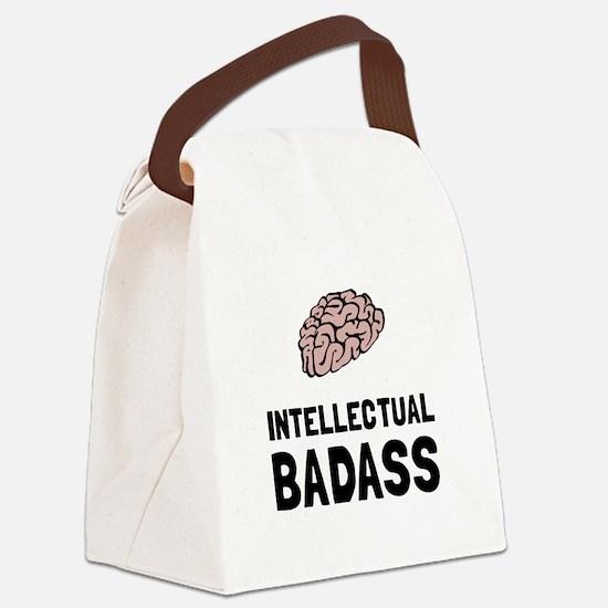 Intellectual Badass Canvas Lunch Bag
