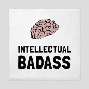 Intellectual Badass Queen Duvet