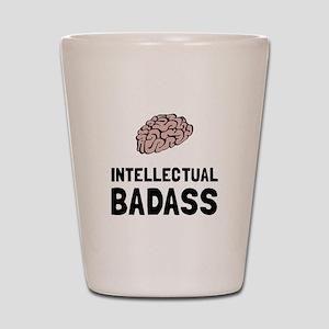 Intellectual Badass Shot Glass
