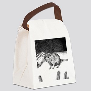 Gerbil Canvas Lunch Bag