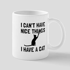 Nice Things Cat Mugs