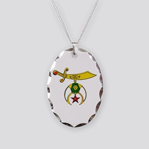 Shriner Necklace Oval Charm