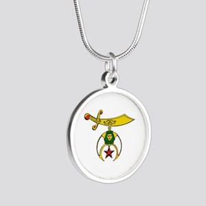 Shriner Silver Round Necklace Necklaces