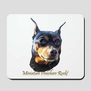 Min Pins Rock Mousepad