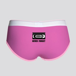 VCR Tape Never Forget Women's Boy Brief